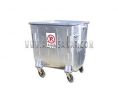 مخزن زباله 770 لیتری قوس دار (بدون درب)