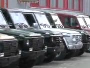 ویدئو :  رنگ آمیزی جیپ بنز- دی دیل