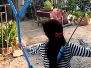 ویدئو :  برای خود تیرو کمان بسازید
