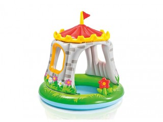 استخر آبی کودک طرح قلعه سلطنتی
