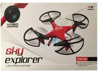 کواد کوپتر دوربین دار  مدل sky  explorer