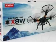 کواد کوپتر دوربین وای فای SYMA X8W