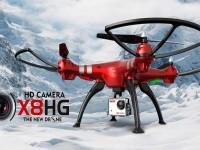 کوادکوپتر بزرگ syma x8hg با دوربین 8 مگاپیکسل وتنظیم ارتفاع
