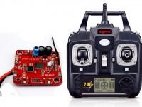 دسته کنترل و مدار کواد کوپتر مدل x5c