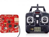 دسته کنترل و مدار کواد کوپتر مدل x5sw-x5sc