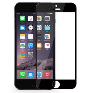 محافظ صفحه نمایش شیشه ای مشکی +Apple iPhone 6 Plus Amazing CP