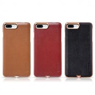 قاب محافظ چرمی نیلکین Nillkin N-JARL Wireless charging receiver For Apple iphone 7 Plus