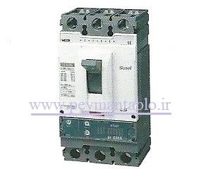 کلید اتوماتیک قابل تنظیم الکترونیکی ، 630 آمپر ، سه پل ، LS