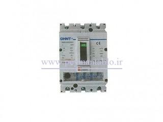 کلید اتوماتیک کامپکت قابل تنظیم (الکترونیکی) ، (200-250) آمپر ، سه پل ، چینت