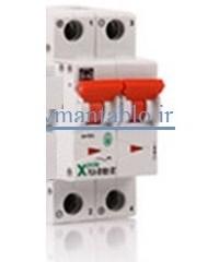 کلید مینیاتوری جریان مستقیم (DC) دو پل در آمپر های 10،تا،50 آمپر مارک F&G