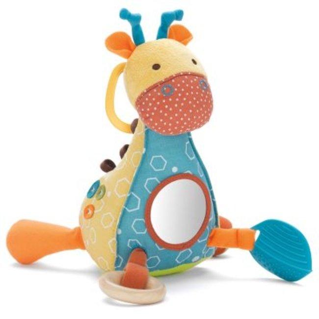 عروسک جغجغه ای دایناسور skip hop