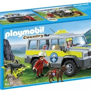 mountain rescue truck كد 5427