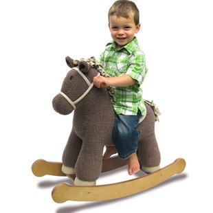 راکر اسب قهوه ای كد3002