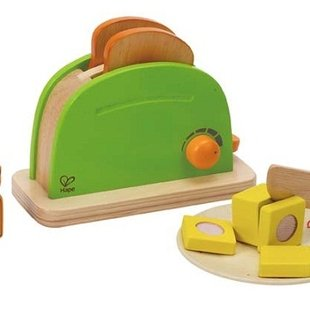 تستر چوبی کودک pop up toster hape کد 3105