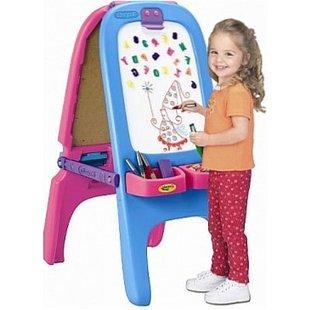 تخته نقاشی دو طرفه کودک  grown up کد 50312