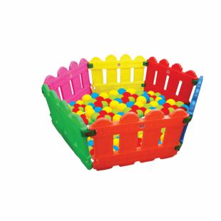 استخر توپ شش ضلعی رنگی pic-6016