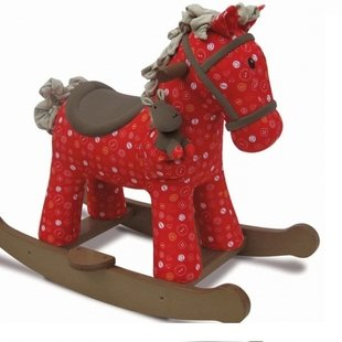 راكر اسب كودك قرمز رنگ كد3030