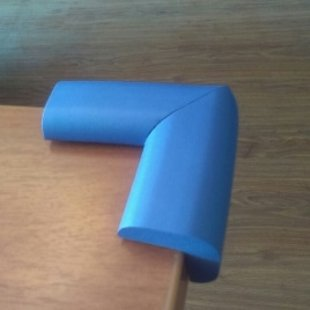 محافظ گوشه بزرگ جامبو رنگ آبی (4تايی)