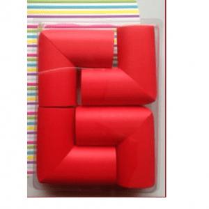 محافظ گوشه كوچك جامبو رنگ قرمز(4تايي) کدcj 03