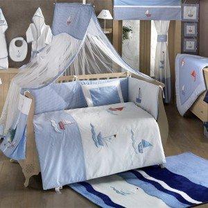 ست 9تکه سرویس خواب blue marinکودک kidboo
