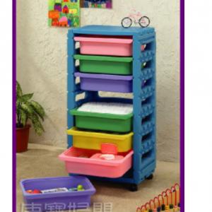 قفسه اسباب بازی کودک ching ching کد fu07