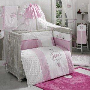 ست 9تکه سرویس خواب rabitto pink کودک kidboo