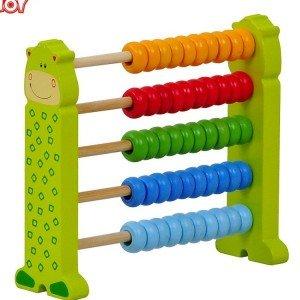 چرتکه چوبی رنگی tooky_toys کدtkqc858
