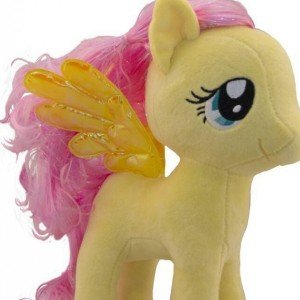 عروسک اسب پونی زرد کد50113