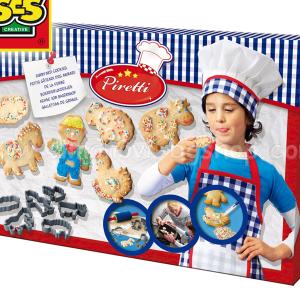 پکیج کامل شیرینی پزی کودک با ابزار ses کد9446