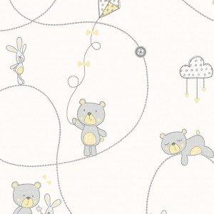 کاغذ دیواری انگلیسی اتاق کودک - کاروسل Dl21101