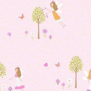 کاغذ دیواری انگلیسی اتاق کودک - کاروسل Dl21129