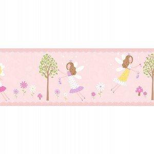 حاشیه ( بوردر ) کاغذ دیواری انگلیسی اتاق کودک - کاروسل Dlb50083