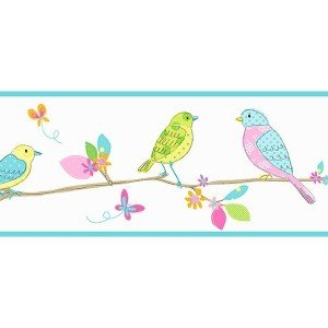 حاشیه ( بوردر ) کاغذ دیواری انگلیسی اتاق کودک - هوپلا DLB 07523