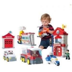 ایستگاه بزرگ آتش نشانی little learner کد3969