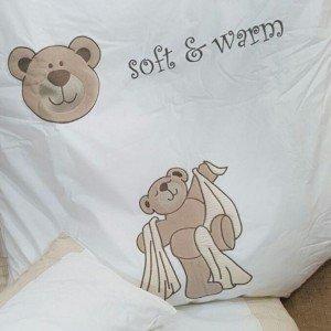 سرویس خواب 3تکه kidboo طرح teddy boo