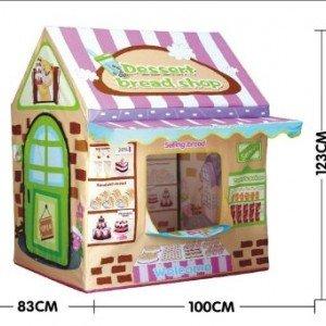 کلبه پارچه ای شیرینی فروشی