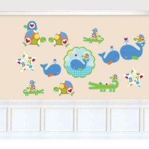تزیین دیوار اتاق کودک مقوایی191131