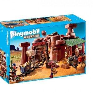 playmobil western goldmine كد 5246