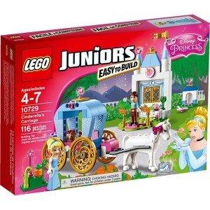 لگوي کالسکه سیندرلا سری JUNIORS برند LEGO كد 10729
