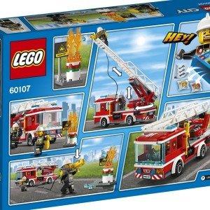 اسباب بازی ساختنی ماشین آتش نشانی سری CITY كد 60107