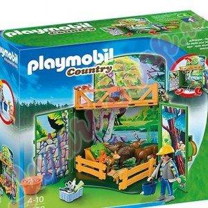 Playmobil My Secret Forest Animals Play Box كد 6158