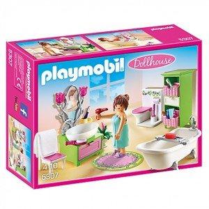 Playmobil Vintage Bathroom Doll House كد 5307
