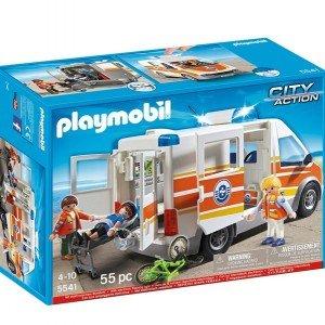 PLAYMOBIL Ambulance with Siren Set كد 5541