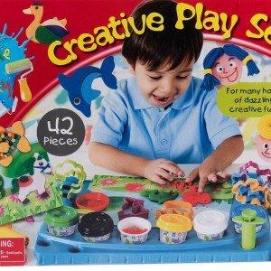 ست نقاشی و خمیر playgo کد 7200