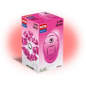 مدلسازی ژئومگ Kor pink55pcs کد 6749