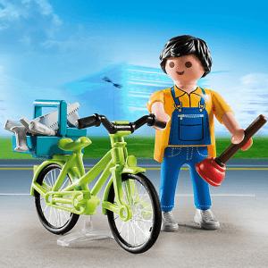 handyman with bike pm 4791