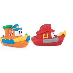 پوپت وان حمام طرح قایق 2عددی رنگ قرمز و نارنجی کد id6199