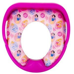 تبدیل توالت فرنگی رنگ صورتی مدل پرنسس mothercare