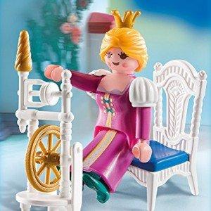 Princess with Weaving Wheel 4790