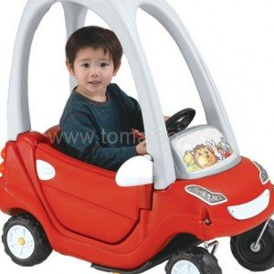 ماشين كوپه 4 چرخ ching ching كد ca-11 رنگ قرمز